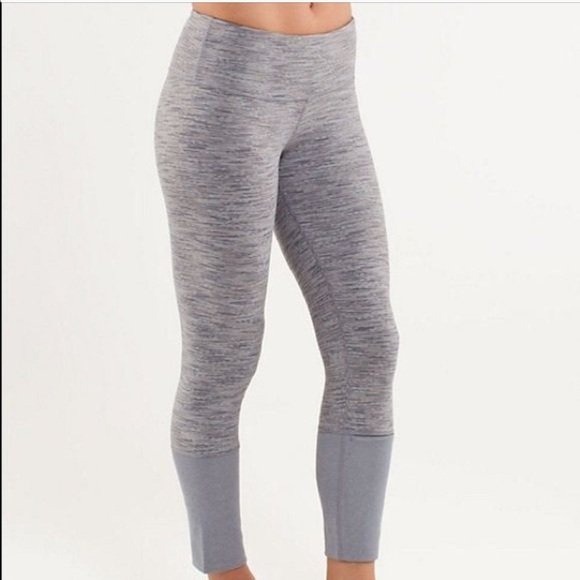 ebb3eff498 lululemon athletica Pants | Rare Gray Wunder Under Lululemon ...